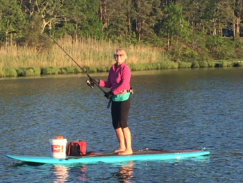 Stand Up and Paddle Fishing